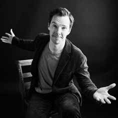 "Benedict Cumberbatch poses at Variety's portrait studio in between interviews for his film ""The Current War."" Image: Billy Kidd"