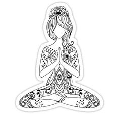 Pin by ирина on трафареты yoga, mandala, doodle art Mandala Coloring, Colouring Pages, Adult Coloring Pages, Coloring Books, Mandala Art, Mandala Doodle, Color Mind, Doodle Art, Yoga Kunst