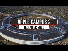 Apple's new solar-powered spaceship office is nearly complete | Inhabitat | Bloglovin'