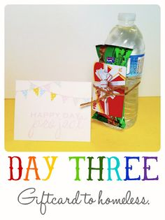 happy day project - random acts of kindness Food Gifts, Diy Gifts, Handmade Gifts, Christmas Gifts For Boyfriend, Boyfriend Gifts, Mcdonalds Gift Card, Mission Projects, Blessing Bags, Trending Christmas Gifts