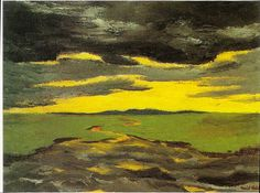 Emil Nolde, Early evening, 1916