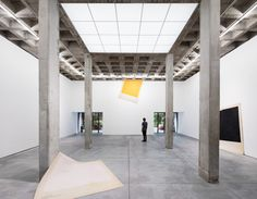 FIRM: Mateo Riestra, José Arnaud-Bello & Max von Werz; PROJECT: Galeria OMR; LOCATION: Mexico City, Mexico. Adaptive reuse of existing Brutalist structure for a contemporary art gallery space.