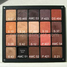 If you haven't tried Inglot's Freedom System, you're seriously missing out. The eyeshadows cost 6 dollars/square, and the palette itself (available in 1, 2, 3, 4, 5, 10, 20, and 40 pan capacities) is sturdy and well-constructed with a magnetic cover. 220 colors/finishes to choose from, all highly-pigmented and easily blendable, and in my personal experience, rivaling MAC and MUFE quality for a muuuuch lower price. :)