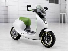smart electric scooter concept will see production in 2014