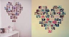 mural coração tumblr