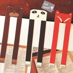 Adorable bookmarks!!  I am so making this tomorrow!!