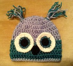 newborn baby owl hat on ebay! Gorgeous and only 99p!!
