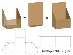 Mock-up Cardboard Box Crafts, Paper Crafts, Box Packaging, Packaging Design, Kids Desk Organization, Gift Wraping, Printable Box, Vintage Logo Design, Sale Banner