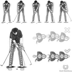 A good putting stroke has few moving parts and is based around a single rhythm or cadence – regardless of the length of putt. That way, you can simply make a longer or shorter stroke to vary the length of your putts with accuracy and consistency. Putting Tips, Putt Putt, Golf Lessons, Golf Tips, Golf Ball, That Way, Golf Clubs, Consistency, Free