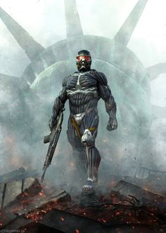 Crysis 2 Concept Art by Dennis Chan magazine