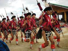 Naga Dance, Nagaland, India