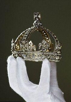 Queen Victoria Crown, she wore this crown after the death of Prince Albert.