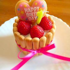 誕生日ケーキ 1歳