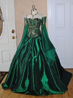 Miranda Medieval Fantasy Corset Set Custom Dress $895.00