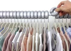 Features:  -Xangar spacing makes your closet neat and tidy and keeps it that way.  -No more frustrating, tangled, overlapping and messy clothes hangers that make it impossible to stay organized.  -Whe