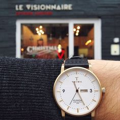 Ivory Klinga is a super slim 38mm mid-century inspired watch that has been given TRIWA contemporary features.