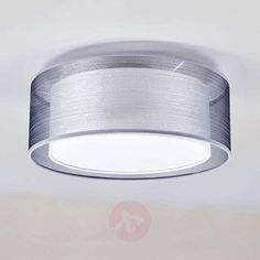 Buy Nica fabric ceiling light in grey at Lights. Hanging Lights, Wall Lights, Ceiling Lights, Fabric Shades, Grey Fabric, Fabric Ceiling, Bedside Table Lamps, Lampshades, Pendant Lamp