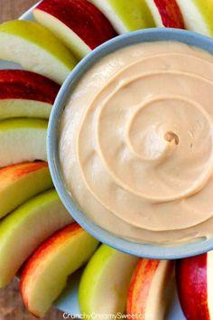 2 Ingredient Caramel Apple Dip!