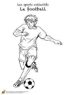 Image d'un joueur professionnel de foot à colorier Football Couples, Pencil Drawings Of Flowers, Pawer Rangers, Body Action, Body Drawing, Couple Drawings, Sports Stars, Colouring Pages, Coloring For Kids