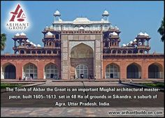 #Tuesday Spacial !! The Thumb of #Akbar in #Agra #India !! would you like to visit here??  www.arihantbuildcon.com  #Architecture #Structure #HistoricalPlace  #Building