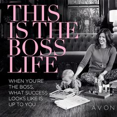 When you sell Avon you sell more than beauty. Earn more doing what you love. Part-time or full-time, in sweats of stilettos, sell Avon anytime, anywhere — online and in-person. Earn up to Start now — it's super easy. Be The Boss, Be Your Own Boss, Have Time, Have Fun, Avon Online, Avon Representative, Ten, The Life, Helping People