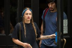 Hairspiration: Jessa from Girls #refinery29 http://www.refinery29.com/2016/04/109626/jessa-from-girls-hair-tips#slide-2 This is about as high maintenance as Jessa goes – it must have taken at least five minutes. And the headband is very Zoltar Speaks, the fortune telling machine in Big. Hats off for such an eclectic reference. ...