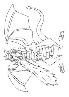 63 Meilleures Images Du Tableau Coloriages De Dragons Coloring