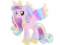 Ranbow colored Princess Cadance