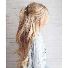 24 Hairstyles For Messy Hair ❤ liked on Polyvore featuring beauty products, haircare, hair styling tools and hair