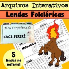 Código 591 Arquivos Interativos - Lendas Folclóricas