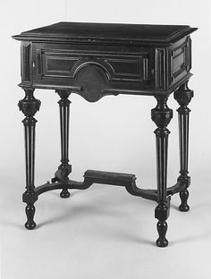 Work Table by F. J. Henkel, New York City, ca. 1860, the Met Collection