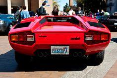 Lamborghini Countach at the Red Square Car Show at UW