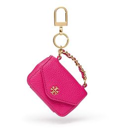 Designer Clothes, Shoes & Bags for Women Car Accessories For Girls, Couture Accessories, Fashion Accessories, Mini Purse, Mini Bag, Barbie Miniatures, Minis, Key Rings, Tory Burch