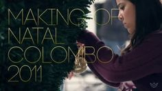 """This is """"Making off - Colombo: Natal"""" by Le Pera Branding Branding, Digital, People, Movies, How To Make, Movie Posters, Xmas, Brand Management, Films"""