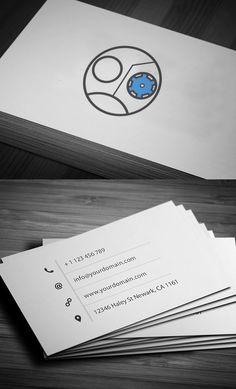 Simple business card example bearded inspiration pinterest more information more information personal business cards colourmoves