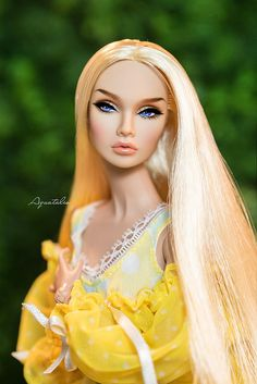"""OOAK Poppy Parker """" Beauty Of Dawn """" by Aquatalis 