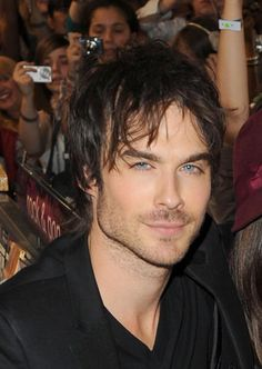 Ian Somerhalder attends a fan meet and greet for the cast of 'The Vampire Diaries' at HMV Oxford Street on June 3 2010 in London England