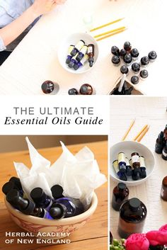 Learn how to get started using essential oils in recipes and remedies -- The Ultimate Essential Oils Guide by the Herbal Academy Natural Home Remedies, Natural Healing, Herbal Remedies, Natural Oils, Essential Oils Guide, Natural Essential Oils, Essential Oil Blends, Herbal Tinctures, Herbal Oil