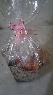 Chocolateria Doce Paladar: cestinha de páscoa