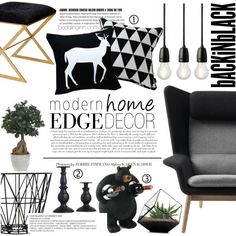 """""""modern edge"""" by punnky-interiors on Polyvore"""