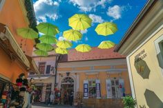 Szentendre is a popular Danube bend day trip from Budapest. Is one day enough? Find out why you should visit Szentendre for a day. Budapest Christmas, Budapest Travel, Colorful Umbrellas, Stones Throw, Winter Travel, Day Trip, Hungary, Shops, World