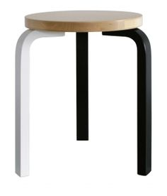 Find an overview of all Artek products Shops, Alvar Aalto, Bar Stools, Color Schemes, Art Pieces, Contemporary, Black And White, Furniture, Finland