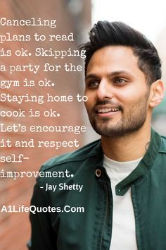 Read these 61 best Jay Shetty quotes on friendship, time, success and life. These quotes help you to improve your love relationships. Motivational Speeches, Motivational Quotes For Success, Best Inspirational Quotes, Motivational Videos, Quotes Motivation, The Right Person Quotes, Happy Quotes, Life Quotes, Karma Quotes