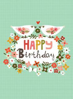 happy birthday ~ Ecojot - print & pattern