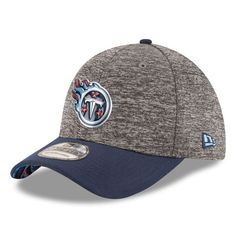 998daaa7f Tennessee Titans New Era Draft 39THIRTY Flex Hat - Heather Gray