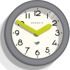 Newgate PANT241CGY Clockwork Grey Pantry Wall Clock