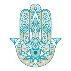 "Similar Images, Stock Photos & Vectors of Hamsa hand drawn symbol with lotus. Decorative pattern in oriental style for interior decoration and henna drawings. The ancient sign of ""Hand of Fatima"". Hamsa Drawing, Henna Drawings, Free Vector Graphics, Free Vector Art, Drawing Activities, Turkish Art, Hand Of Fatima, Illustration, Fatima Hand"