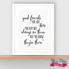 Calligraphy Quote A4 Print by misspippadesign on Etsy