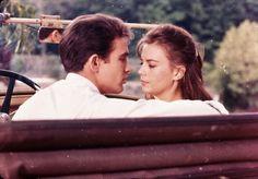 "Warren Beatty and Natalie Wood in ""Splendor in the Grass"""