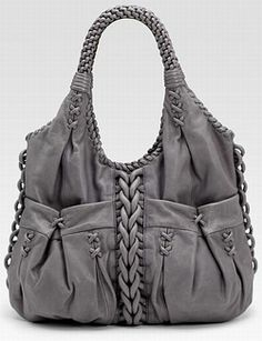 Braided bag.
